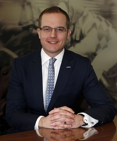 Adam Brickell, Director of Integrity, Legal and Risk for the BHA.
