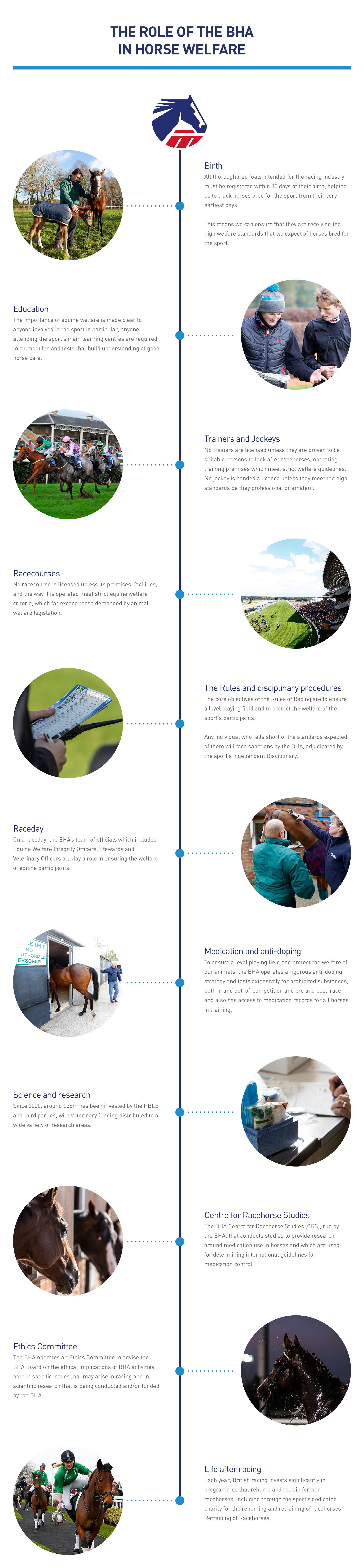 British Horseracing Authority BHA | Our role in horse welfare