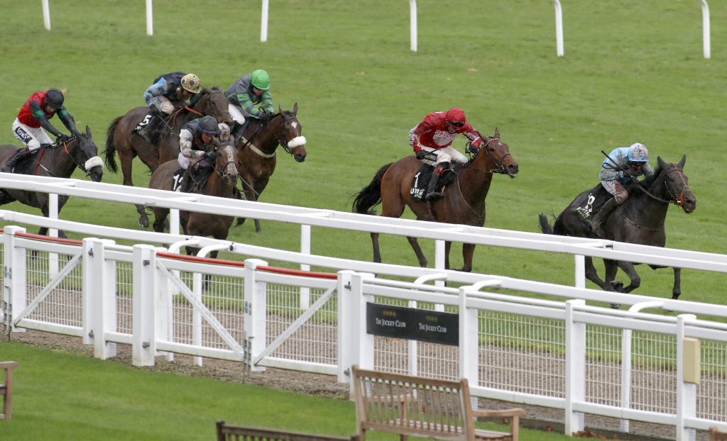 The Shunter and Robbie Power winning The Unibet Greatwood Handicap Hurdle